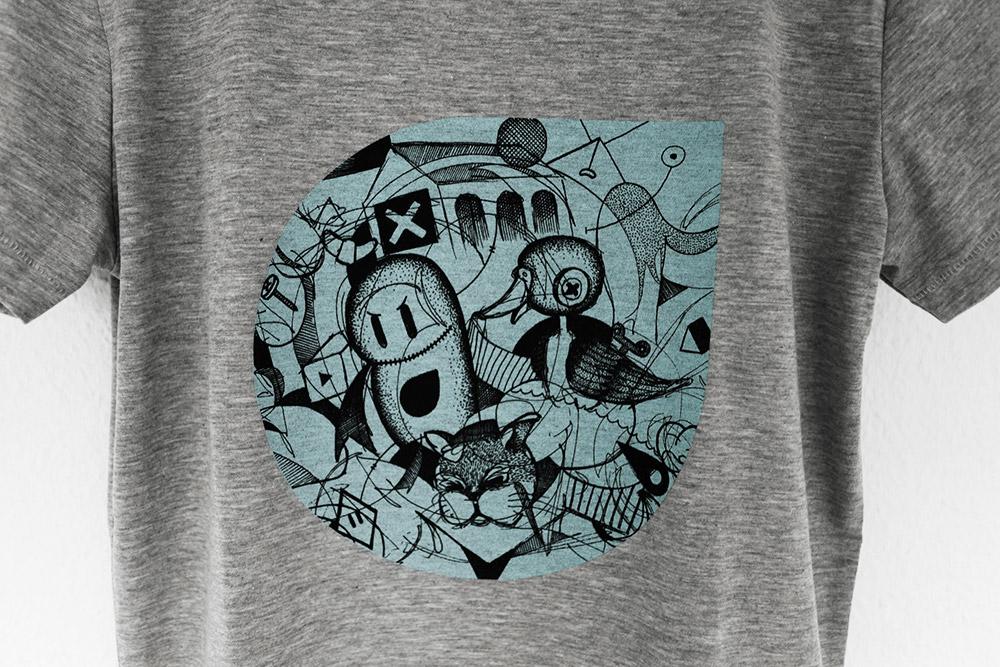 Portfolio. Illustration Spot Festival t-shirt